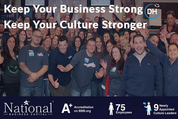 culture building National Business Capital Delivering Happiness