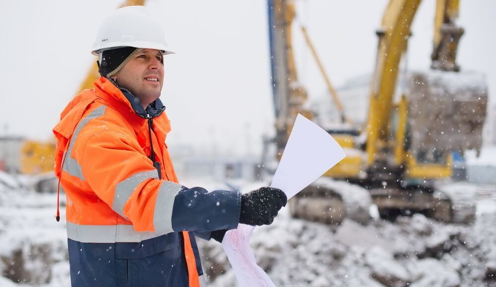 winter construction business keeping contractors busy during holiday season