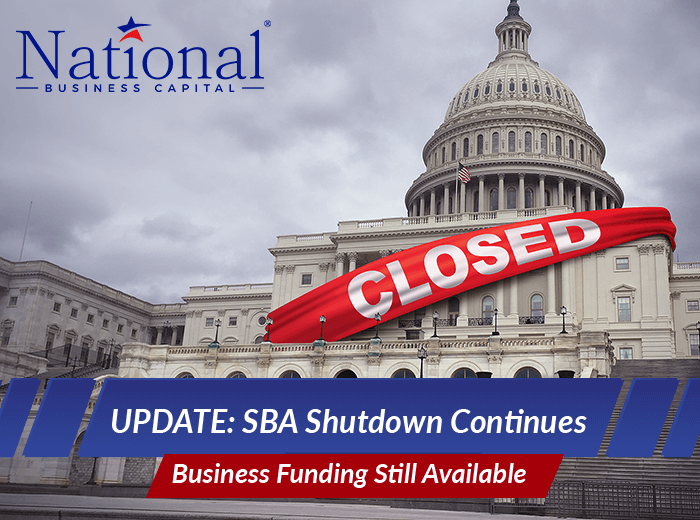 government shutdown closes the SBA affecting millions of small businesses