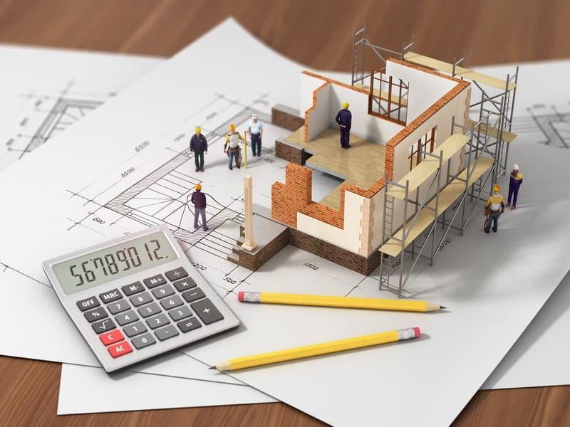 construction loan rates building house