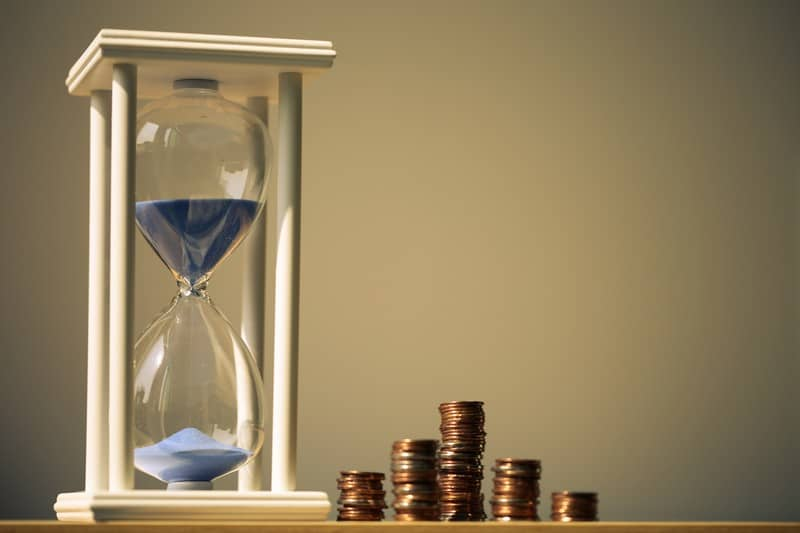 tax extension hourglass