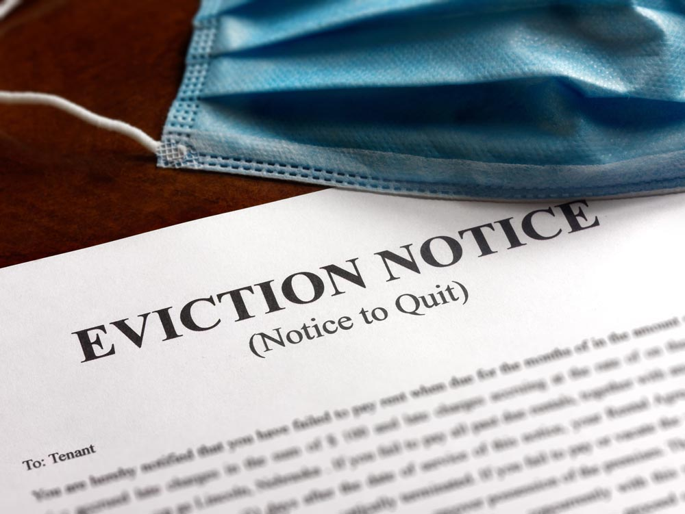 Landlord Eviction Notice Due to Covid